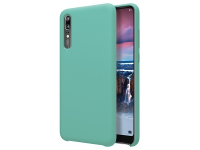Пластмасов гръб LUX за Huawei P20, Светло син