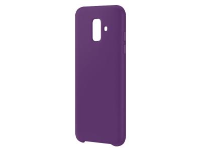 Пластмасов гръб LUX за Samsung Galaxy A6 2018, Лилав