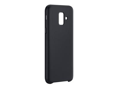 Пластмасов гръб LUX за Samsung Galaxy A6 (2018), Черен