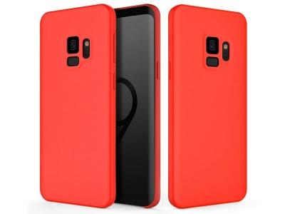 Пластмасов гръб LUX за Samsung Galaxy S9 G960 , Червен