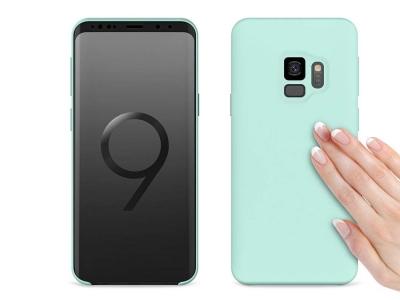 Пластмасов гръб LUX за Samsung Galaxy S9 G960 , Светло син