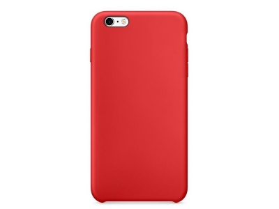 Пластмасов гръб LUX за iPhone 6 / 6s, Червен