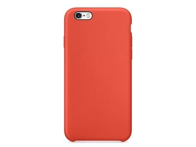 Пластмасов гръб LUX за iPhone 6 / 6s , Оранжев