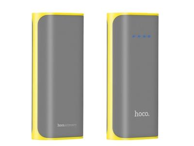 Универсална Външна Батерия (Power Bank) HOCO B21 5200 mAh, Сив