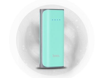 Универсална Външна Батерия (Power Bank) HOCO B21 5200 mAh, Мента