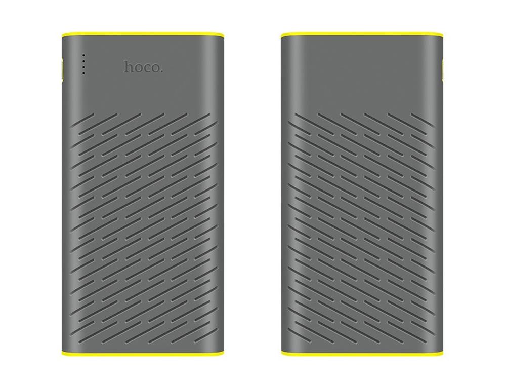 Универсална Външна Батерия(Power Bank) HOCO B31A 30000 mAh, Сив