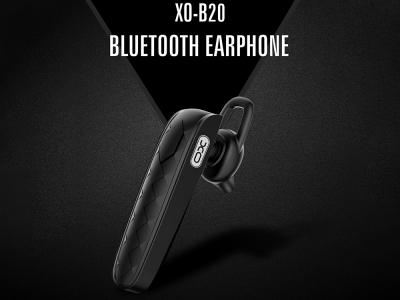 Bluetooth слушалка XO-B20, Черен
