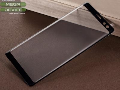 Стъклен Протектор Full за Sony Xperia XZ3, Черен