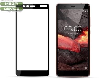 Стъклен Протектор MOCOLO за Nokia 5.1 2018, Черен
