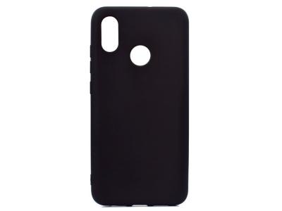 Силикон гръб за Xiaomi Mi 8 (6.21) , Черен
