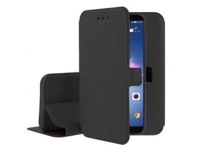 Калъф тефтер BOOK POCKET за Huawei P Smart / Enjoy 7S, Черен