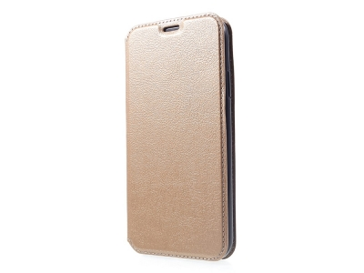 Калъф Тефтер Magnet за iPhone XR (6.1), Златист