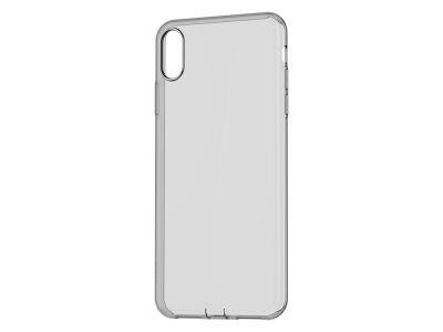 Силиконов гръб BASEUS за iPhone XR (6.1) Черен/ Прозрачен