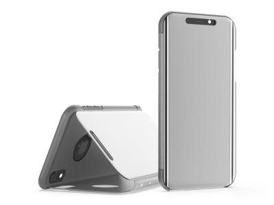 Калъф Тефтер Window за iPhone XS Max (6.5) , Бял