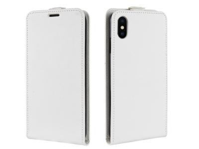 Калъф тефтер за iPhone XR (6.1) Бял