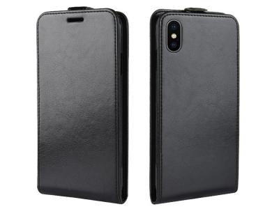 Калъф тефтер за iPhone XR (6.1), Черен