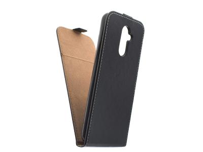 Калъф тефтер Slim Flexy за Huawei Mate 20 Lite, Черен