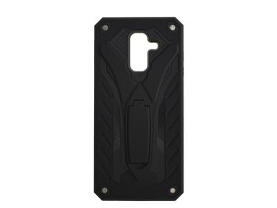 Удароустойчив гръб PHANTOM за Samsung Galaxy A6 Plus (2018), Черен
