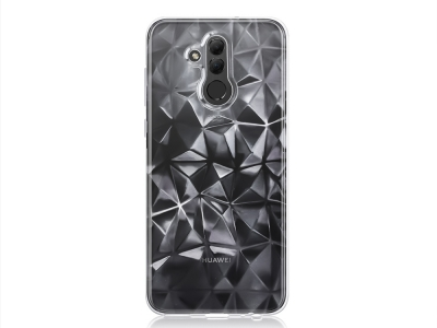 Силиконов гръб PRISM за Huawei Mate 20 lite, Прозрачен