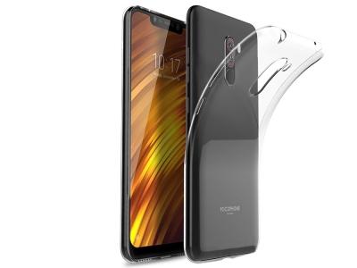 Силиконов гръб за Xiaomi Poco F1, Прозрачен
