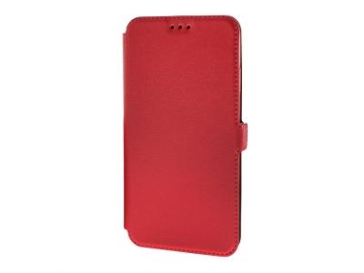 Калъф тефтер BOOK POCKET за IPhone XS Max (6.5), Червен