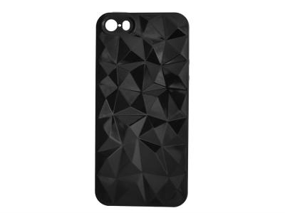 Калъф Гръб Силикон PRISM - iPhone 5 / 5S / SE Black