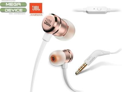 Слушалки с Микрофон JBL T290 bulk, Златисти