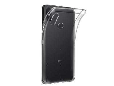 Силиконов гръб Anti Shock 0,5mm за Xiaomi Mi 8, Прозрачен