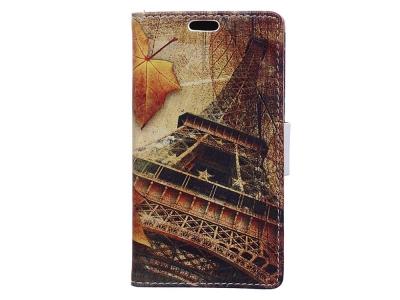 Калъф Тефтер за Samsung Galaxy J4 Plus, Айфеловата кула