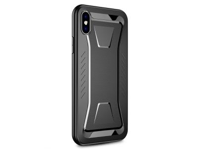 Силиконов Гръб IPAKY за iPhone XS Max (6.5 ), Черен
