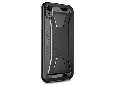 Силиконов гръб IPAKY за iPhone XR (6.1), Черен
