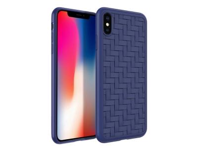 Силиконов гръб HOCO за Phone XS Max (6.5), Син