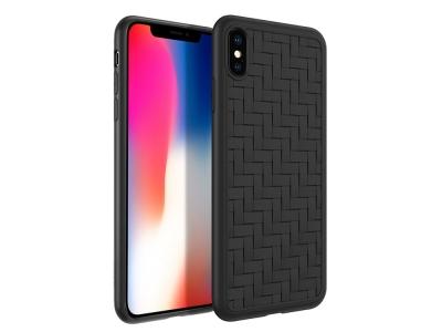 Силиконов гръб HOCO за Phone XS Max (6.5), Черен