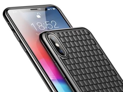 Силиконов Гръб BASEUS за iPhone XS Max (6.5) , Черен