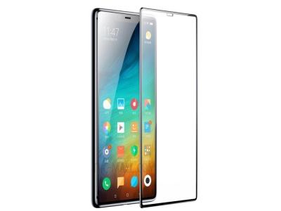 Стъклен протектор 5D Full Glue за Xiaomi Mi 8 , Черен