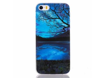 Силиконов Гръб - iPhone 5 / 5S / SE - Beautiful Night Scene