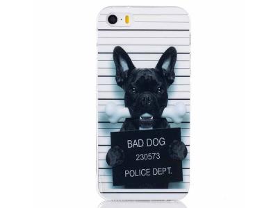 Силиконов Гръб -  iPhone SE/5s/5 - Bad Dog