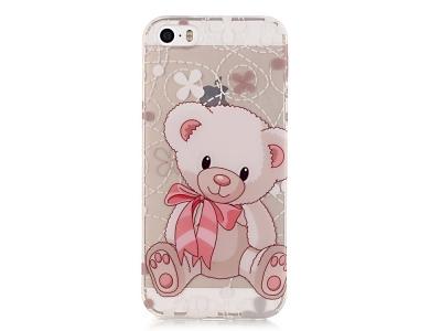 Силиконов Гръб -  iPhone SE/5s/5 - Adorable Bear