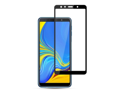Стъклен Протектор MOCOLO за Samsung Galaxy A7 (2018) , Черен