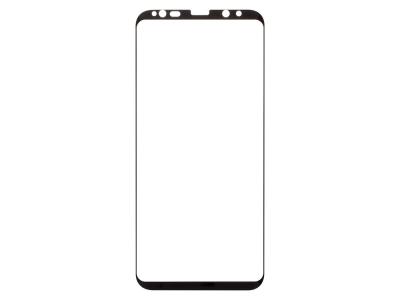 Стъклен Протекор RURIHAI 0.25mm 3D за Samsung Galaxy S8+ G955, Черен