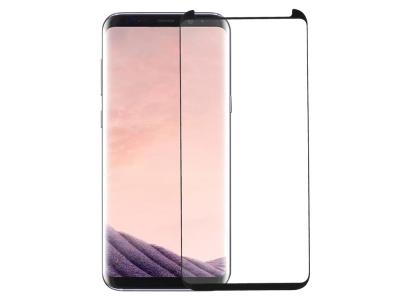 Стъклен Протектор RURIHAI 3D за Samsung Galaxy S8 SM-G950, Черен