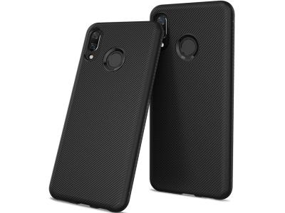Силиконов гръб Twill за Huawei Honor 8X, Черен