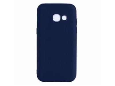 Силиконов гръб Matte за Samsung Galaxy J4 Plus (2018) J415 , Тъмно син