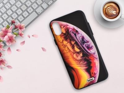 Пластмасов гръб Boter за iPhone X / iPhone XS, Планета