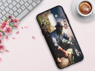 Пластмасов гръб Boter за Samsung Galaxy A6 Plus 2018, Гангстер