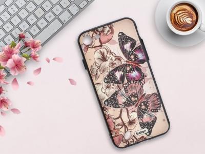 Пластмасов гръб Boter за  iPhone 7/ iPhone 8 (4.7), Пеперуди