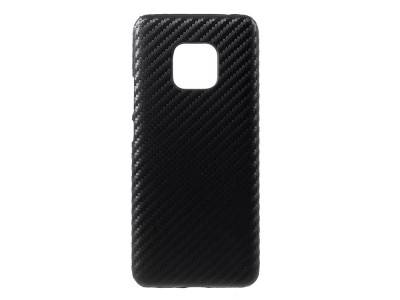 Пластмасов гръб за Huawei Mate 20 Pro, Черен