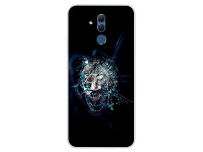Силиконов гръб за Huawei Mate 20 Lite, Вълк