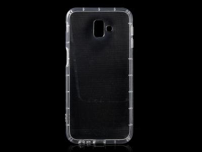 Силиконов гръб за Samsung Galaxy J6 Plus, Прозрачен