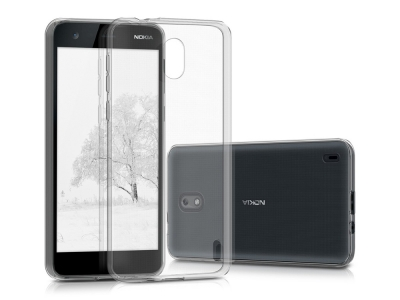 Силиконов Гръб за Nokia 1, Прозрачен